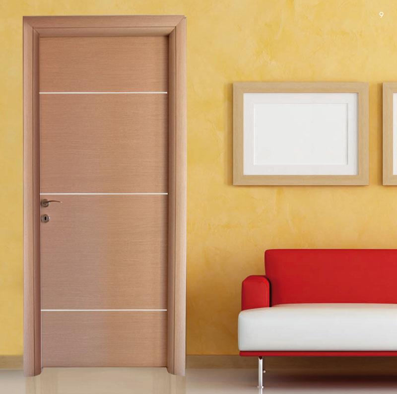 Πόρτα εσωτερική Laminate Κρόνος Δρύς ανοιχτό σχέδιο Ν.870