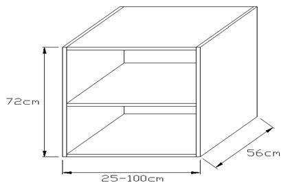 Κουτί βάσης κουζίνας