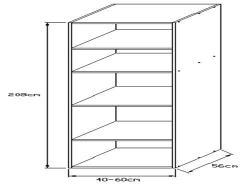 Κουτί τροφοθήκης 2070 x 560