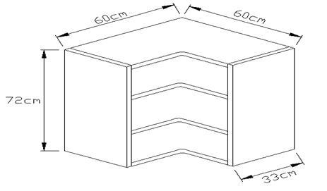 Κουτί κρεμαστο γωνιακό 720 x 600 x 600mm
