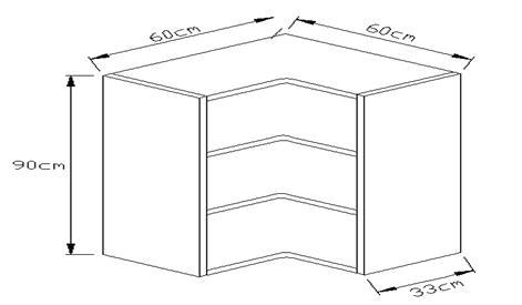 Κουτί κρεμαστό γωνιακό 900 x 600 x 600mm
