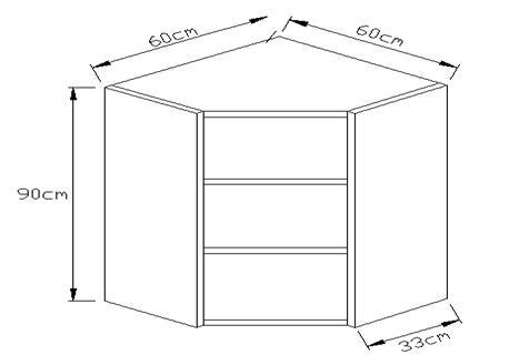 Κουτί κρεμαστό γωνιακό φάλτσο 900 x 600 x 600mm