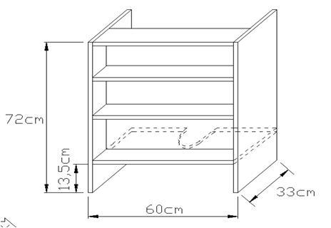 Κουτί απορροφητήρα 720 x 330mm