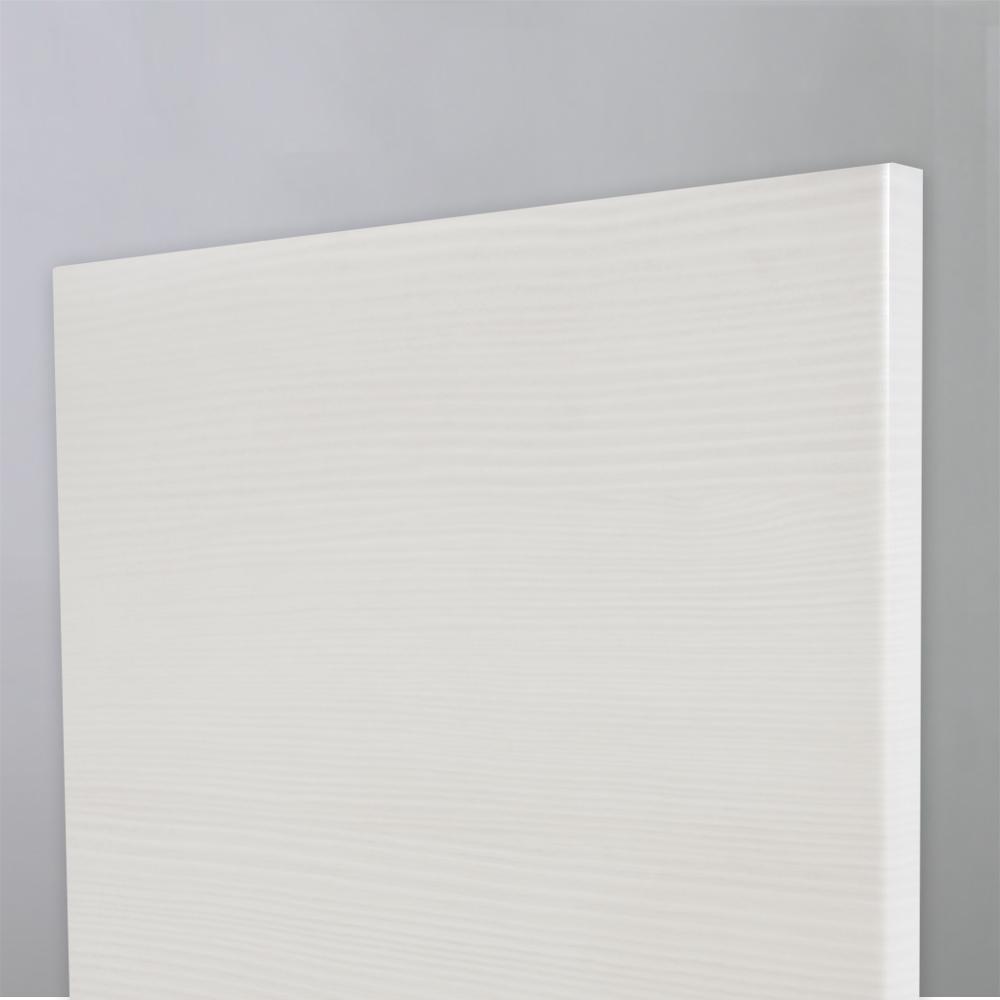 Πορτάκι πολυμερικού βακελίτη γυαλιστερό λευκό με γκρί 582