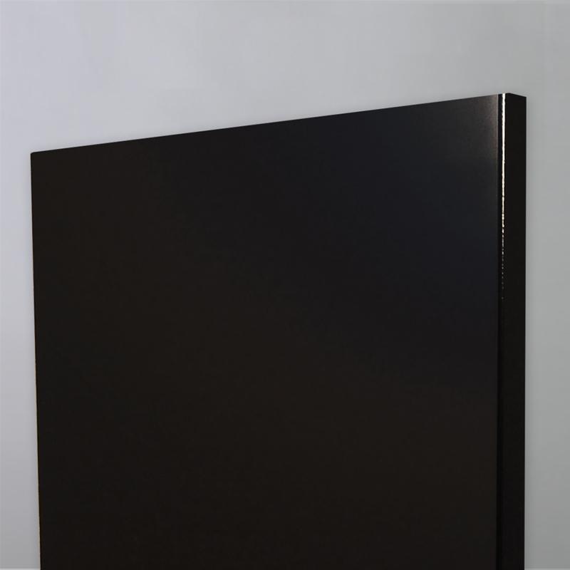 Πορτάκι πολυμερικού βακελίτη γυαλιστερό μάυρο 555